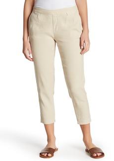NYDJ Hidden Drawstring Linen Blend Pants (Petite)