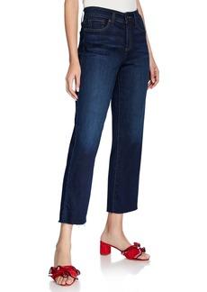 NYDJ Jenna Raw-Hem Cropped Denim Pants