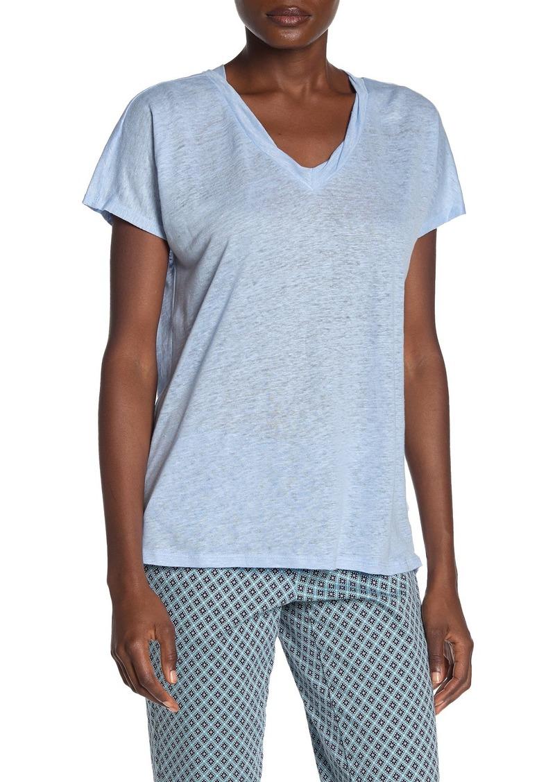 NYDJ Linen V-Neck T-Shirt