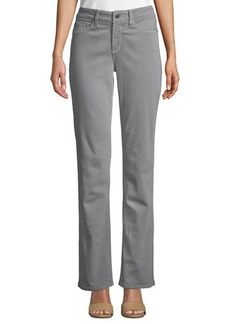 NYDJ Marilyn Mid-Rise Straight-Leg Pants