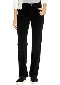 NYDJ Marilyn Straight Double Snap Waistband Corduroy