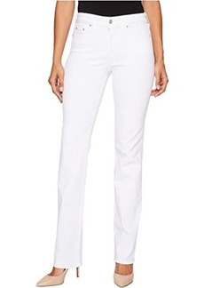 NYDJ Marilyn Straight in Optic White