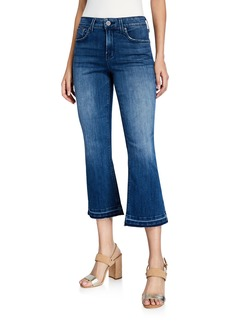 NYDJ Mid-Rise Bootcut Cropped Jeans