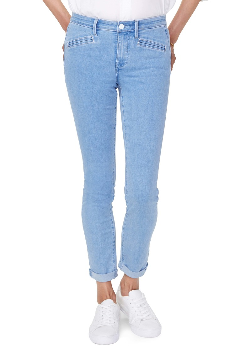 NYDJ Alina High Waist Welt Pocket Stretch Skinny Jeans (Belle Isle)