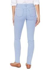 NYDJ Alina Pinstripe High Waist Stretch Skinny Jeans (Trella)