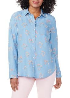 NYDJ Aline City Button-Up Shirt
