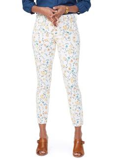 NYDJ Ami Ankle Skinny Jeans (Zinnia Arrangement)