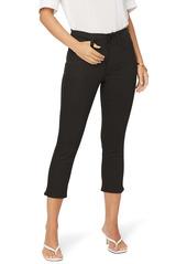 NYDJ Ami Capri Jeans (Black Rinse)