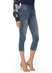 NYDJ Ami Capri Skinny Jeans (Monet Blue) (Petite)