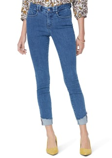 NYDJ Ami Chewed Hem Ankle Skinny Jeans (Tranquil)