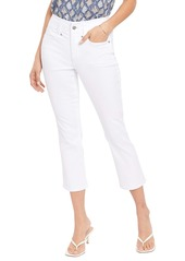 NYDJ Ami Cool Embrace® High Waist Capri Jeans (Optic White)