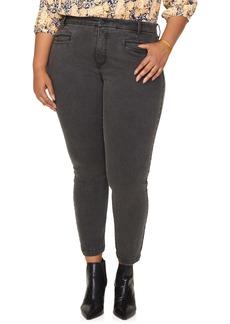 NYDJ Ami Cropped Skinny Jeans (Folsom) (Plus Size)