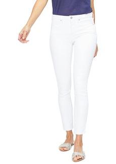 NYDJ Ami Embroidered Pocket Stretch Skinny Jeans