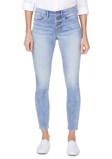 NYDJ Ami Exposed Button Stretch Ankle Jeans