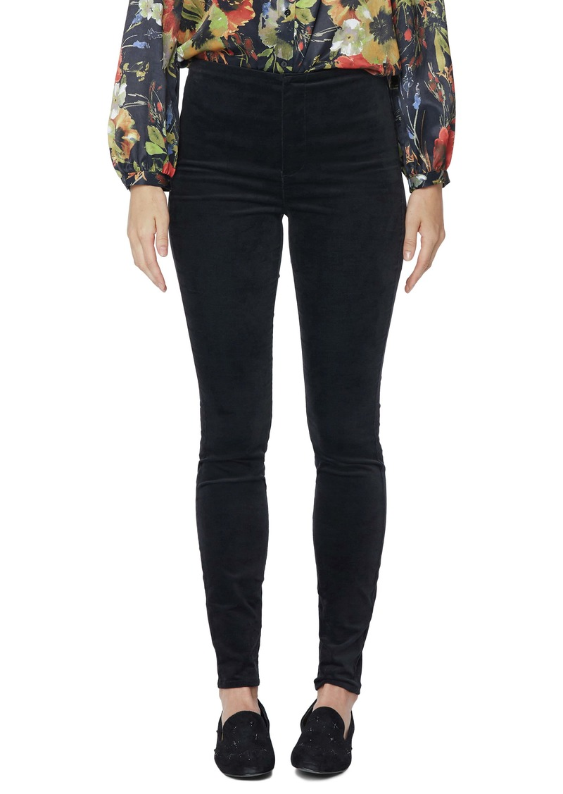 NYDJ Ami Flat Front Stretch Velvet Skinny Jeans