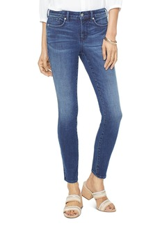 NYDJ Ami Frontier Embroidered Skinny Jeans in Rego