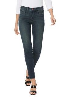NYDJ Ami High Waist Fray Hem Side Slit Ankle Skinny Jeans (Prosperity)