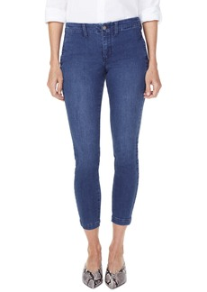 NYDJ Ami High Waist Side Seam Crop Skinny Jeans (Clean Nevin)