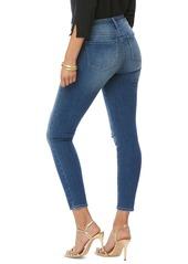 NYDJ Ami High Waist Stitch Detail Distressed Ankle Skinny Jeans (Sacha)