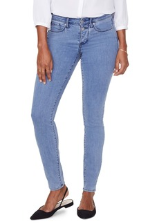 NYDJ Ami Mock Button Fly Skinny Jeans