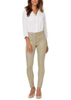 Nydj Ami Snake-Print Skinny Jeans