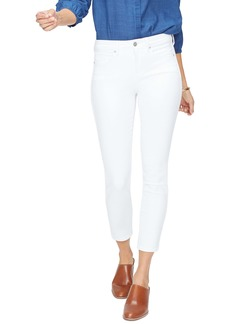 NYDJ Ankle Skinny Jeans (Optic White)