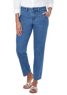 NYDJ Ankle Straight Leg Denim Chino Pants (Regular & Petite)