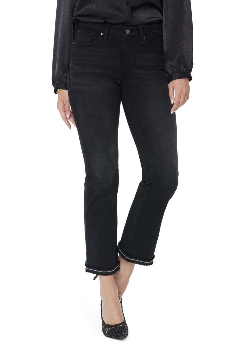 NYDJ Barbara Fray Ankle Bootcut Jeans (Glory)
