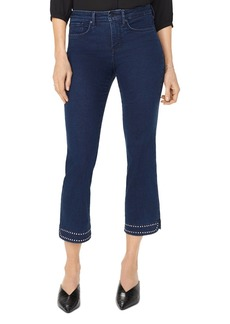NYDJ Barbara Studded Bootcut Ankle Jeans in Hearst