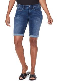 NYDJ Briella Cool Embrace Roll Cuff Shorts