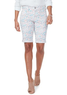 NYDJ Briella Print Shorts (Dream Catcher)