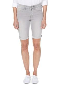 NYDJ Briella Roll Cuff Bermuda Shorts (Gale Wash)