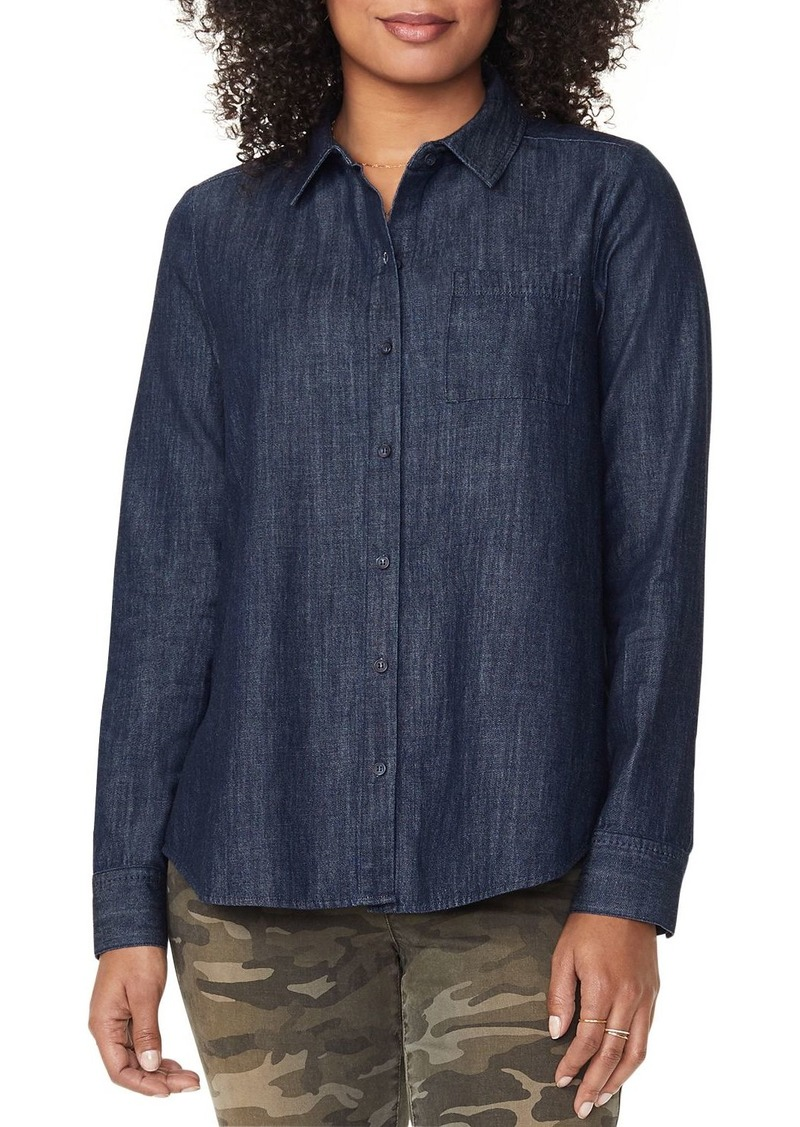 NYDJ Chambray A-Line City Shirt