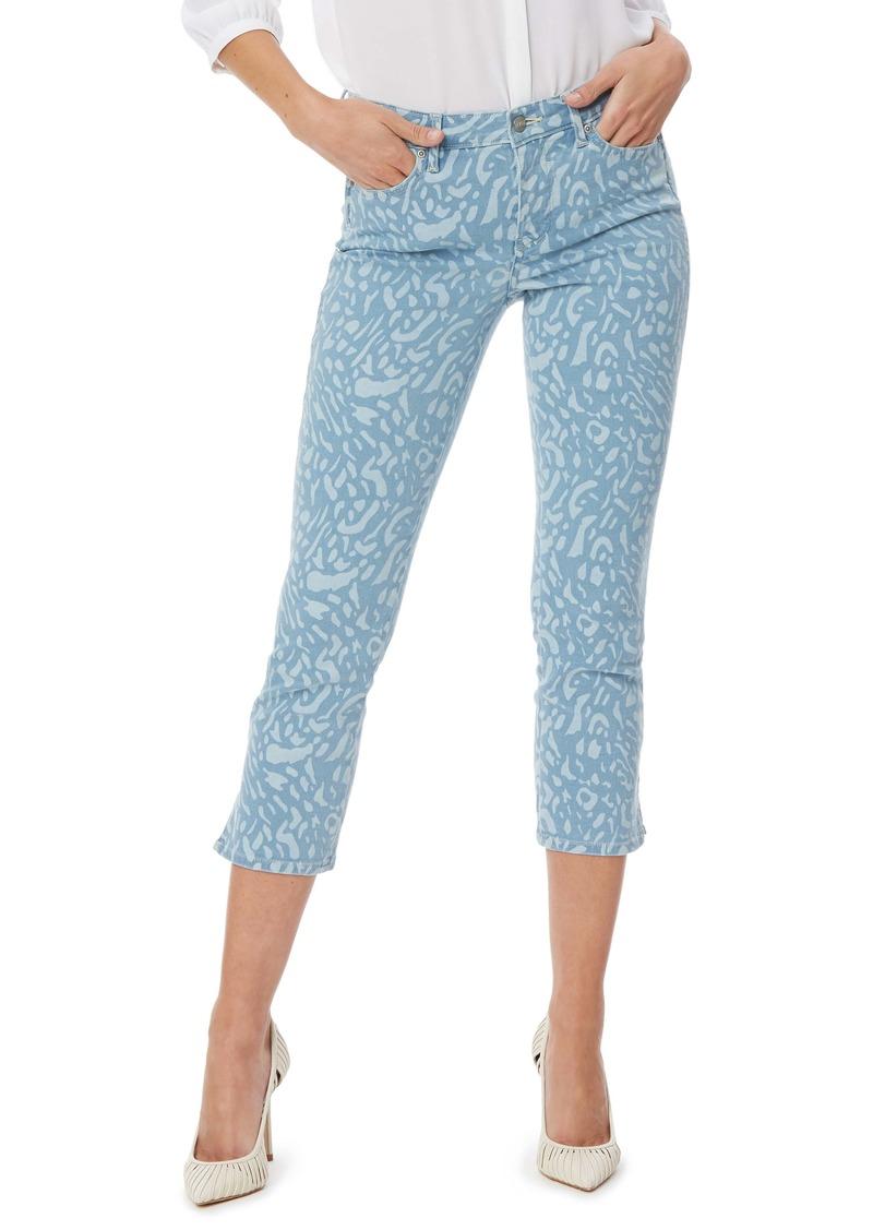 NYDJ Chloe Print Capri Jeans (Light Snow Leopard)