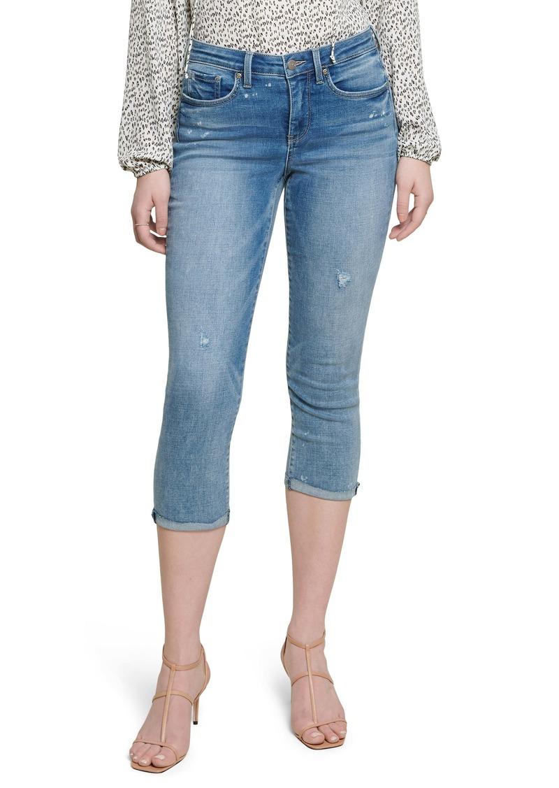 NYDJ Chloe Raw Cuff Capri Jeans (Sandspur)
