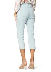 NYDJ Chloe Raw Cuff Capri Jeans (Valhalla) (Petite)