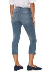 NYDJ Chloe Side Slit Capri Jeans (Sabina)