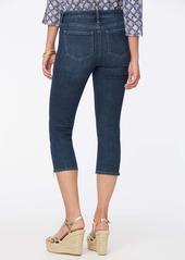 NYDJ Chloe Zip Hem Capri Jeans (Marcel)