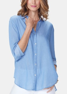 Nydj Classic Long-Sleeve Shirt
