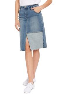 NYDJ Denim Midi Skirt (Clean Seline)