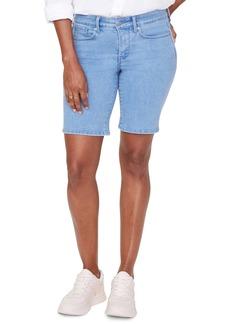 NYDJ Ella Denim Shorts (Belle Isle) (Regular & Petite)