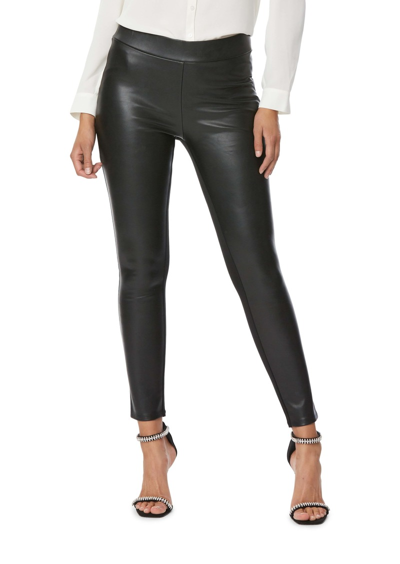 NYDJ Faux Leather & Ponte Leggings