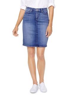 NYDJ Five-Pocket Denim Skirt in Alton