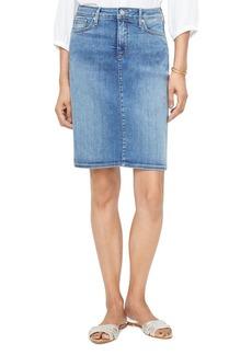 NYDJ Five-Pocket Denim Skirt in Rhodes