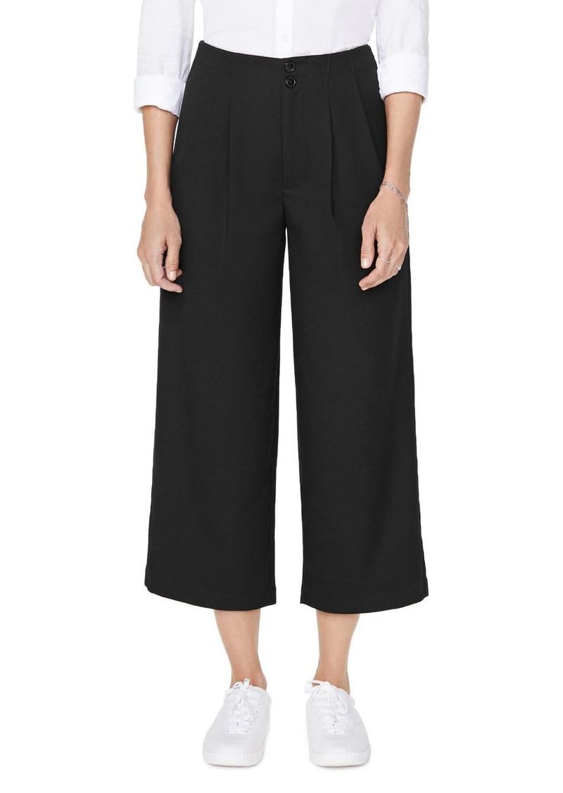 NYDJ Frisco Wide-Leg Cropped Pants