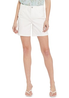 NYDJ High Waist Longline Denim Shorts