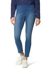 NYDJ High Waist Side Slit Pull-On Skinny Jeans