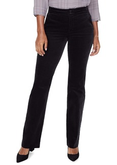 NYDJ High Waist Stretch Velveteen Pants
