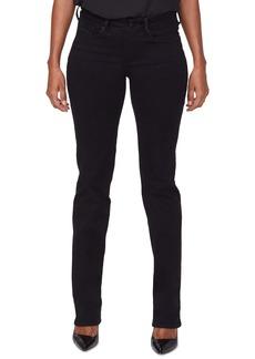 NYDJ Marilyn Catwalk High Waist Embellished Pocket Jeans (Black Rinse)
