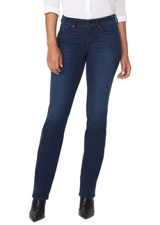 NYDJ Marilyn Cityscape Pocket Straight Leg Jeans (Macondray)